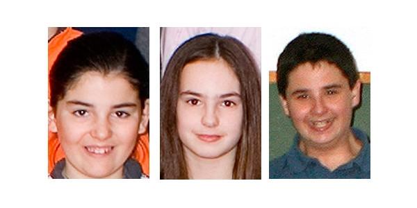 Alumnos premiados en el concurso infantil y juvenil de pintura