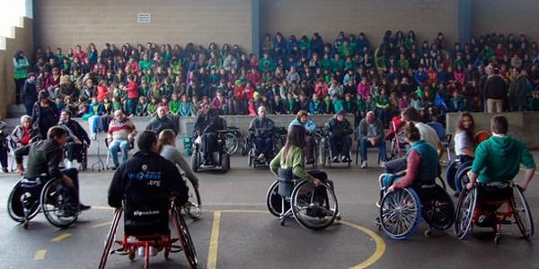 Deporte adaptado en el día de la discapacidad