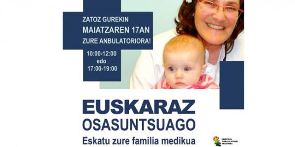 Familia mediku eta pediatra euskaldunak