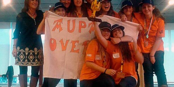Overclock Axular en la final de Euskadi de la FLL