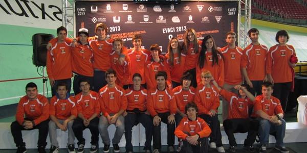 Voluntarios en los Campeonatos Europeos de Atletismo para Veteranos