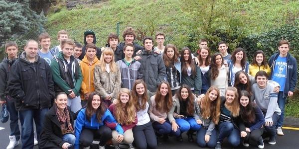 Nos visitan los alumnos londinenses de intercambio