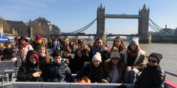 DBH 4ko ikasleak Londresen