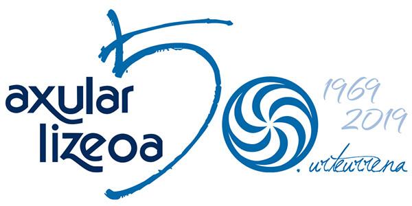 50. urteurrenaren logotipoa