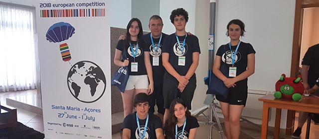 El equipo Cansat Axular en Azores