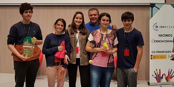 Axularreko CANSAT taldea Espainiako txapelduna