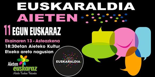Euskaraldia Aieten