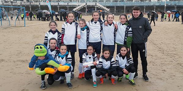En la fotografía el equipo ganador