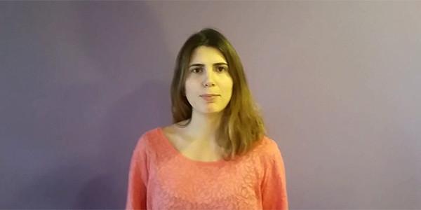 Macarena Tejada, finalista La Buena Prensa sarietan