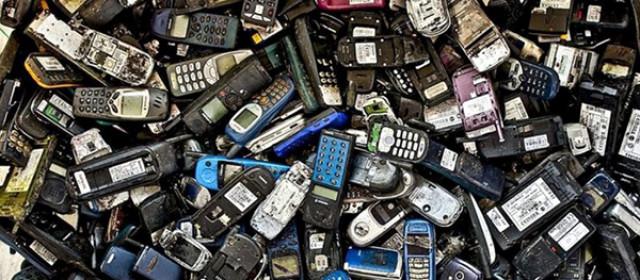 Campaña de recogida de móviles