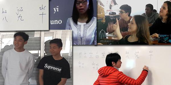 Aprendiendo chino en clase de literatura