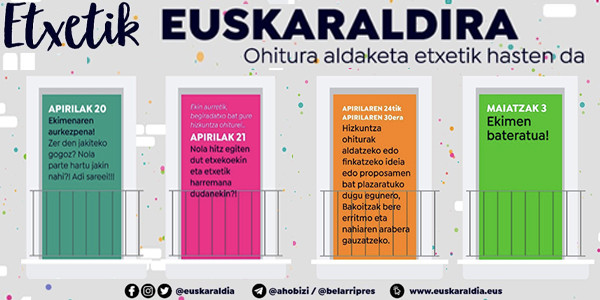 ¡Ya llega Euskaraldia!