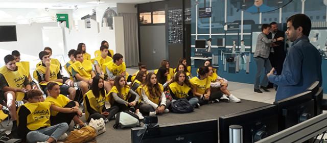 Los alumnos en Ikusi