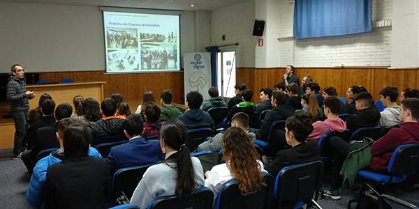 Sesión informativa de la Escuela de Ingeniería de Gipuzkoa