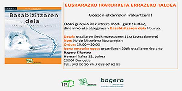 Grupo de lectura fácil en euskara