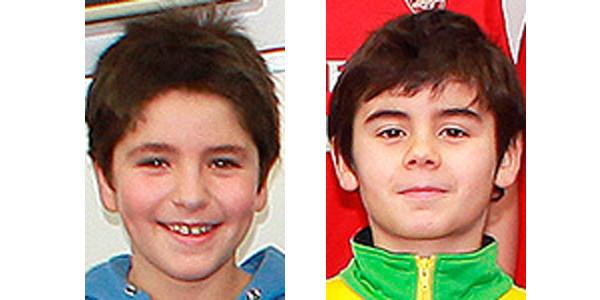 Iñaki Azpiroz y Peru Murgiondo en la selección vasca