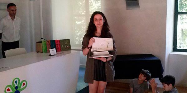Isabel Ezeizak Cristina Eneako narrazio-lehiaketa irabazi du